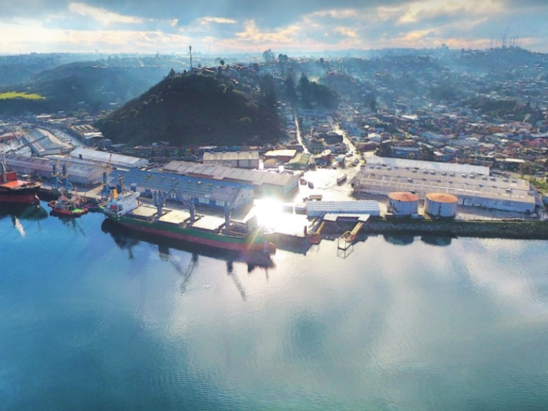 EMPORMONTT - Empresa Portuaria Puerto Montt - Empormontt espera duplicar la capacidad de atención de naves